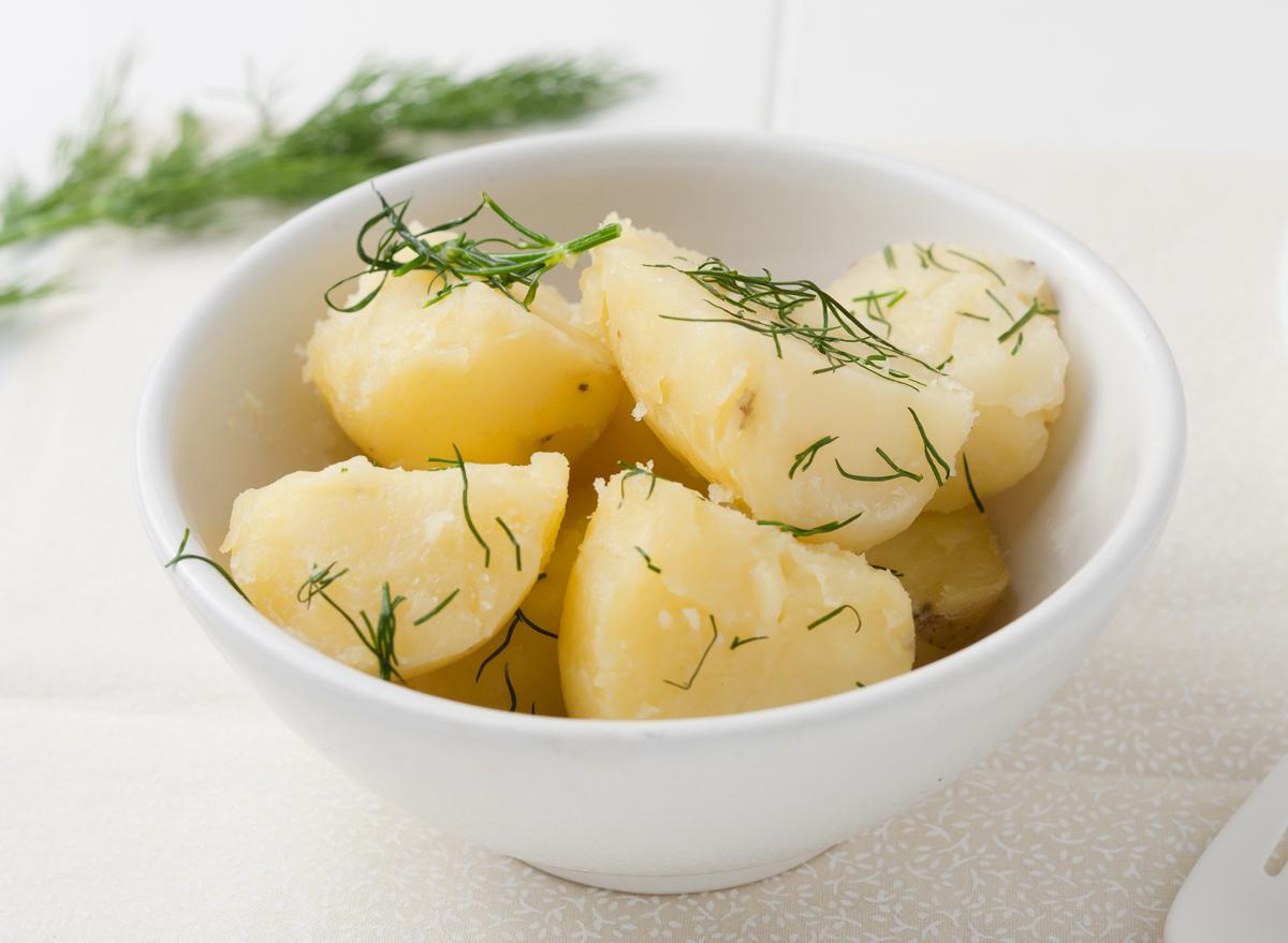 Potatoes a la maitre d'hotel
