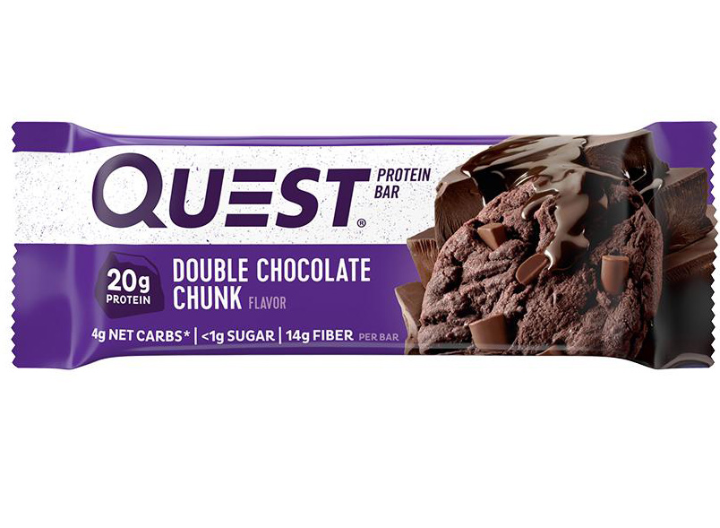 Quest double chocolate chunk bar