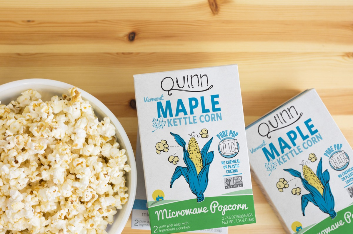 Quinn vermont maple kettle corn
