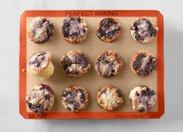 Silpat silicone muffin tray