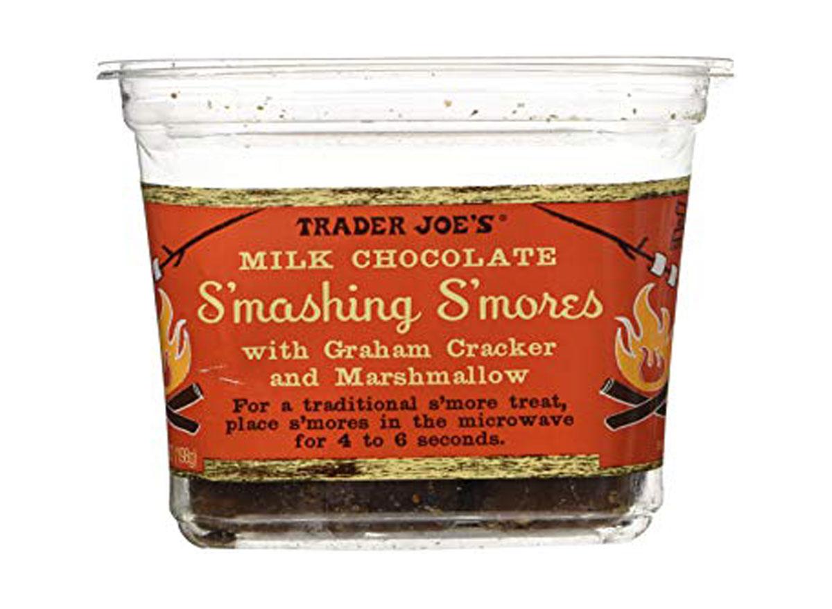 Trader joe's smashing smores