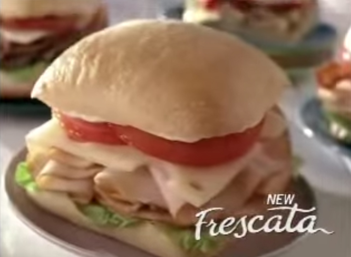Wendys frescata sandwich