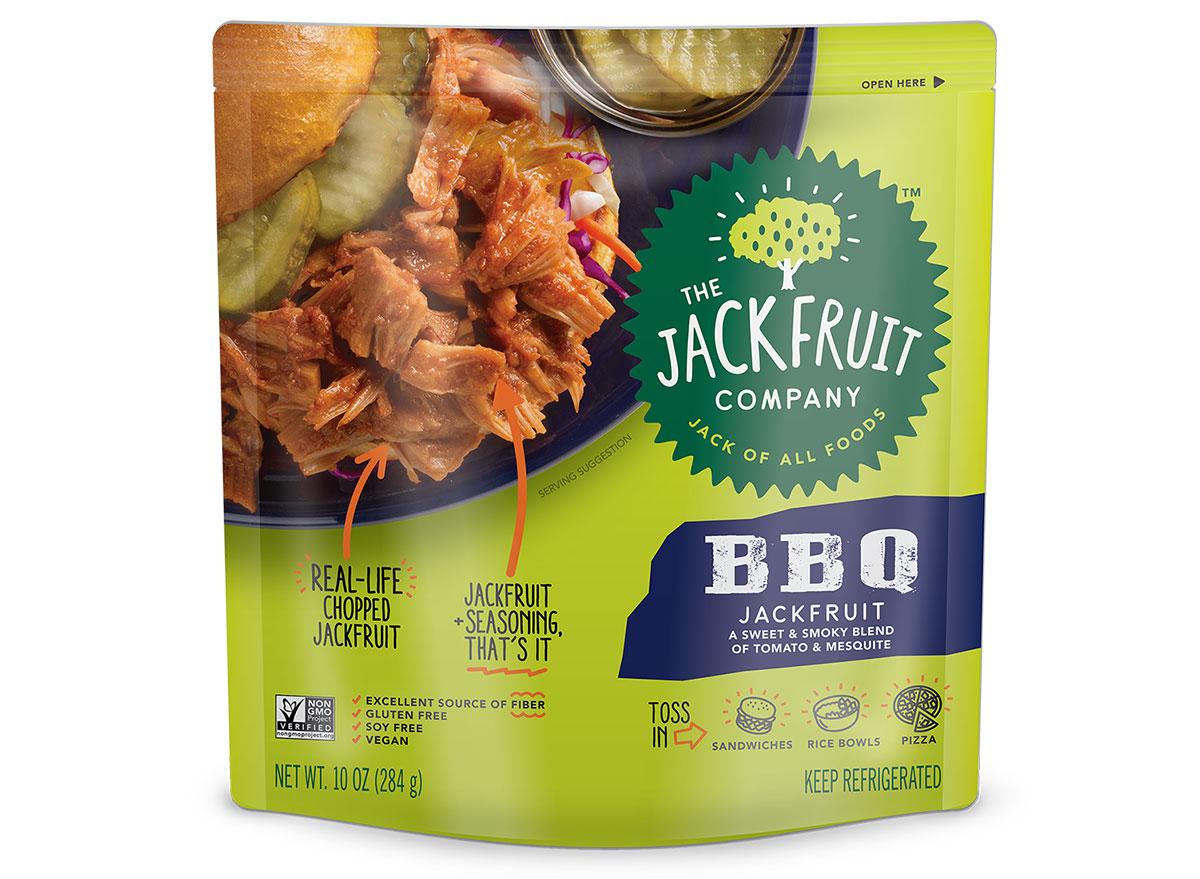 BBQ jackfruit meat