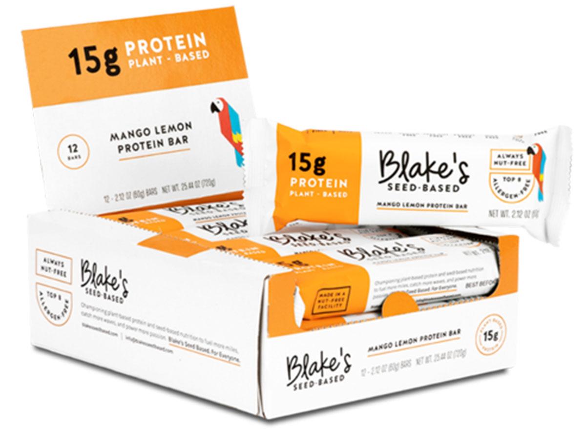 Blake's mango lemon protein bar