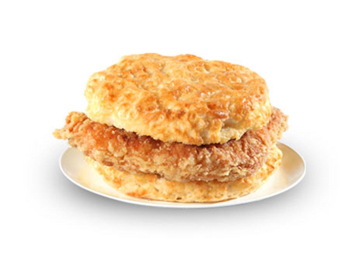 Cajun filet biscuit