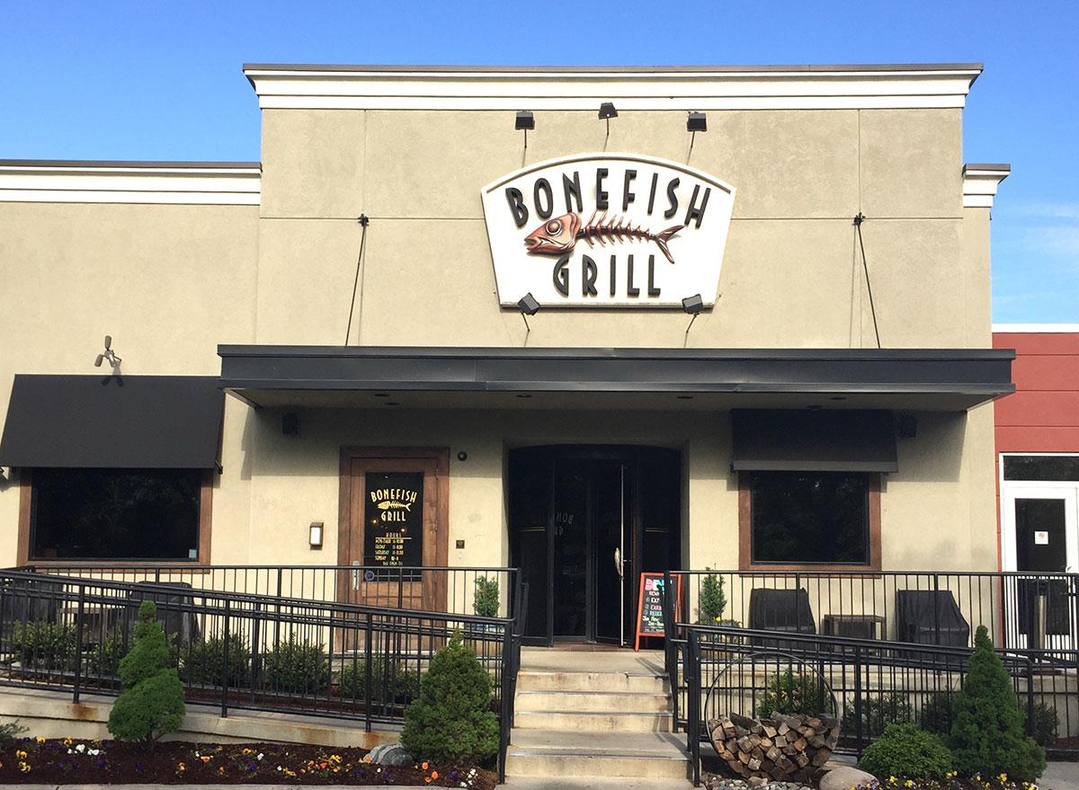 Bonefish grill restaurant