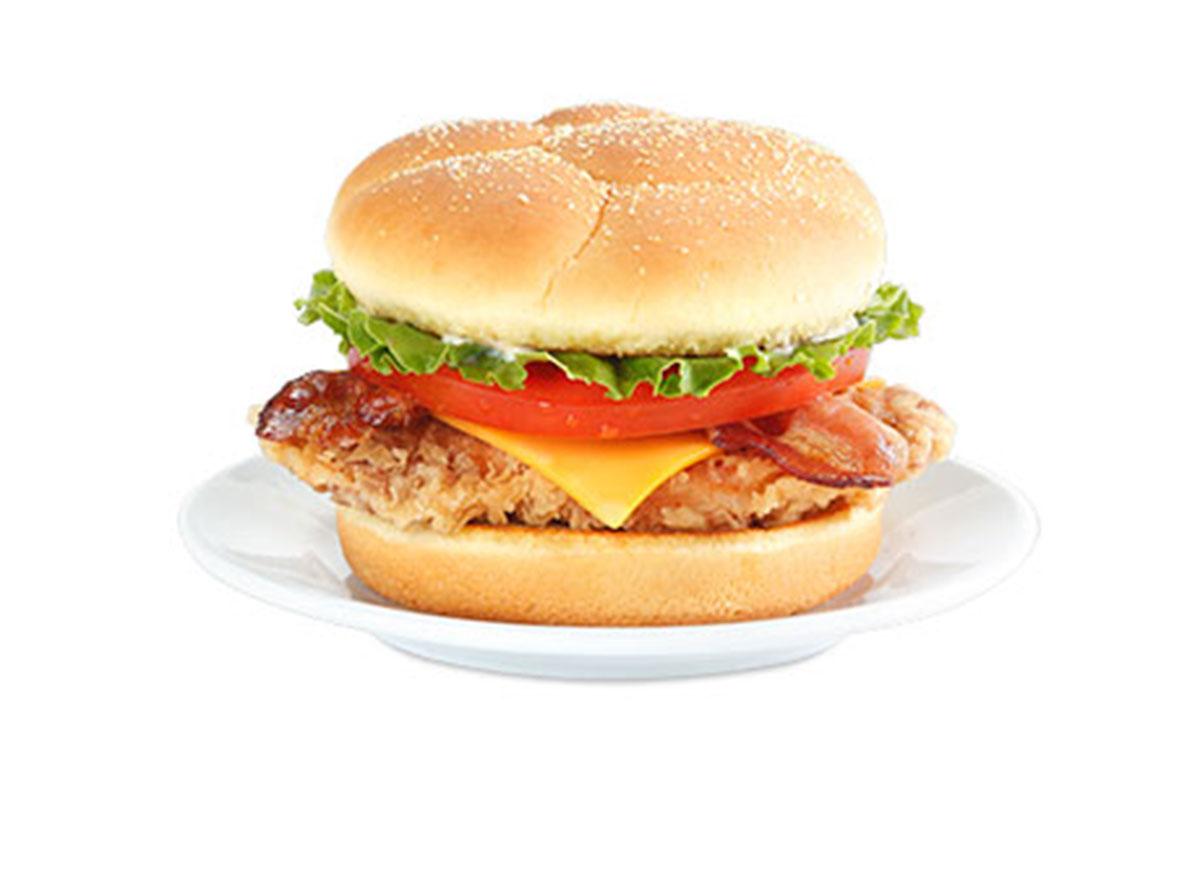 Cajun filet club sandwich