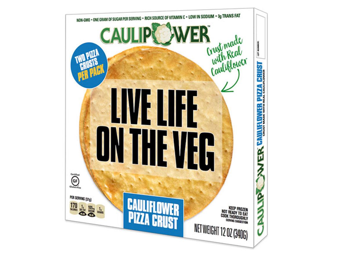 Caulipower pizza crust box