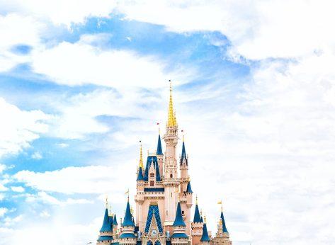 Disney world castle daytime
