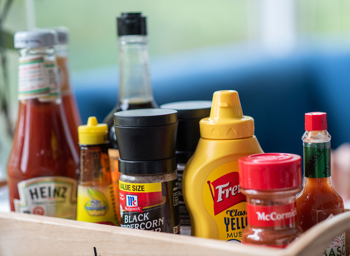 Do condiments like ketchup mustard spices hot sauce expire