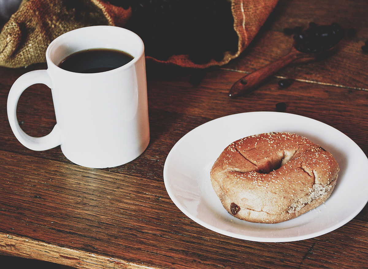 Espresso bagel