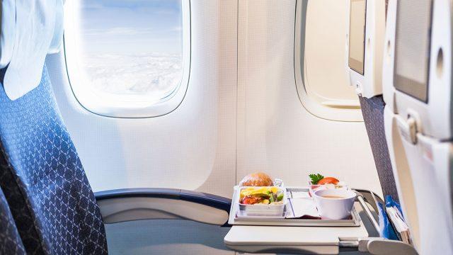 Food on plane