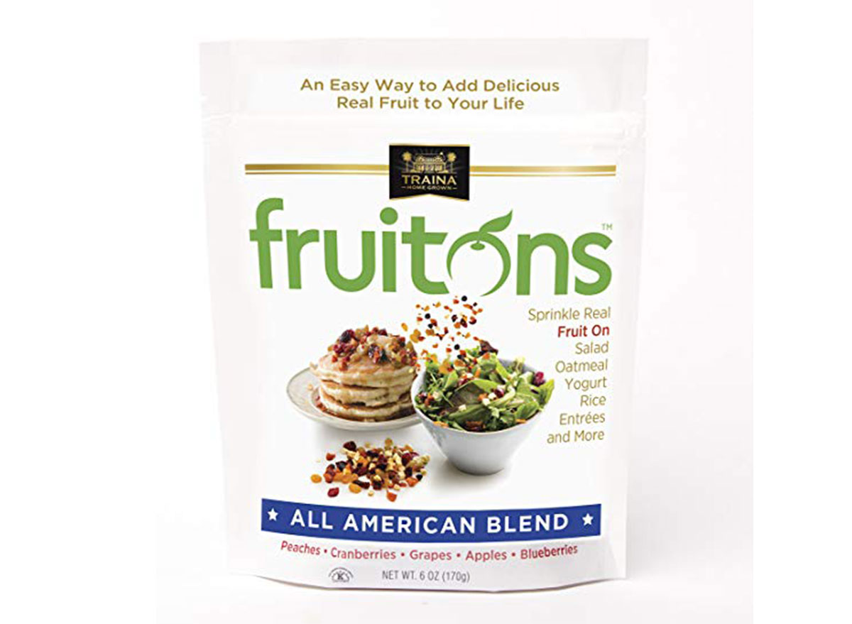 Fruitons all american blend bag