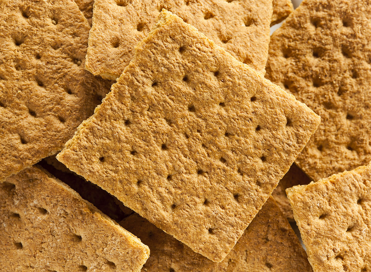 pile of graham crackers