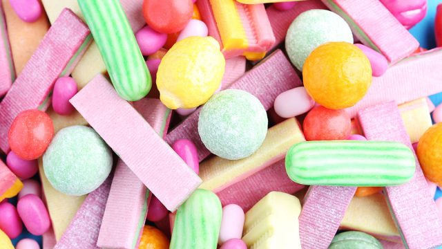 Hard candy and gum