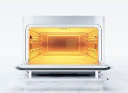 Inside brava oven