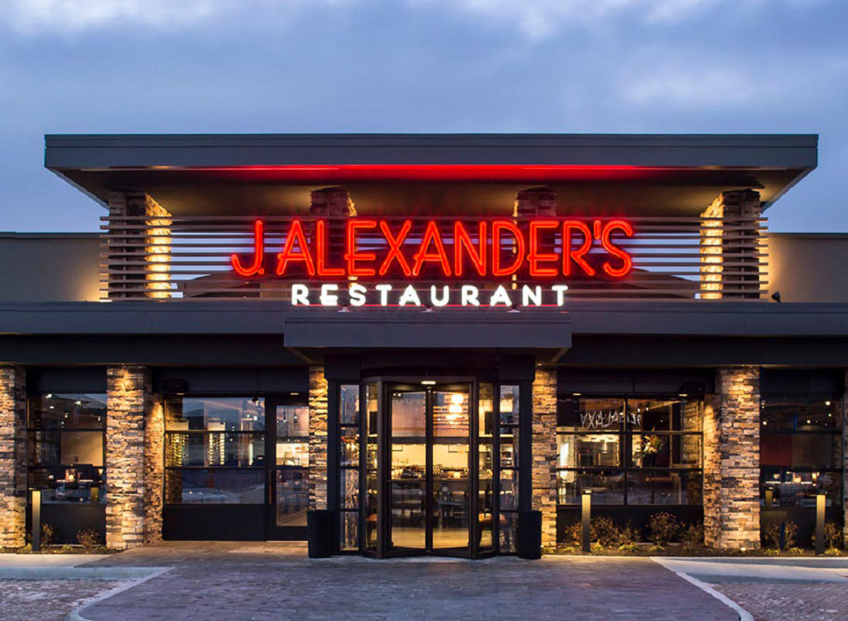 J. alexanders restaurant