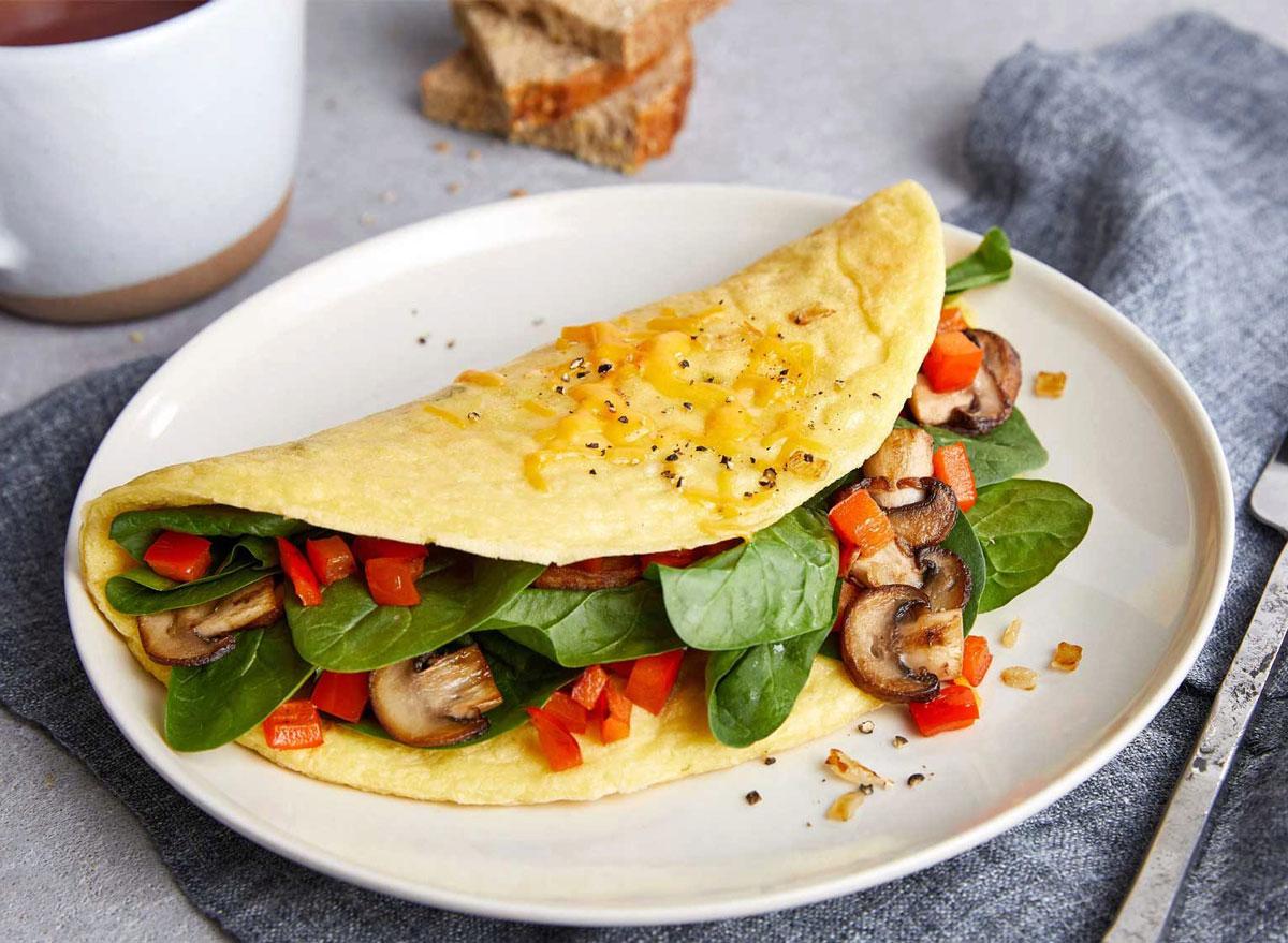 just egg omelet
