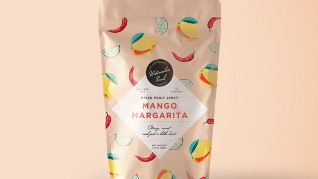 Mango margarita fruit jerky