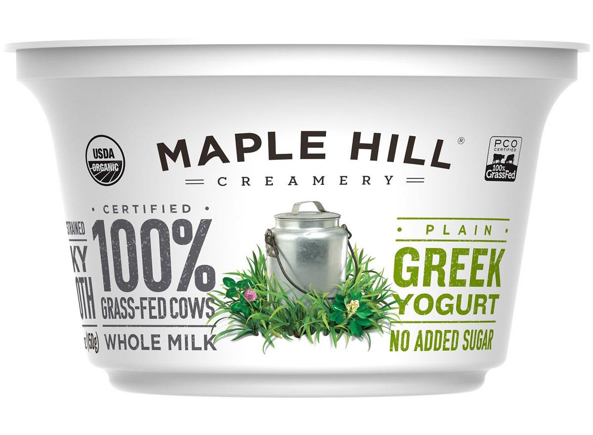 Best worst greek yogurt maple hill creamery plain greek yogurt