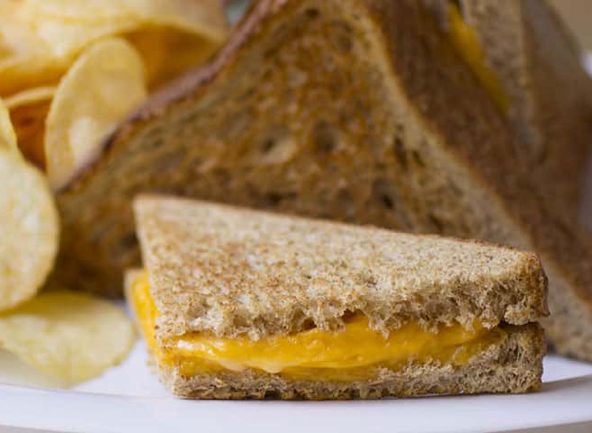 Kid's toasted cheese