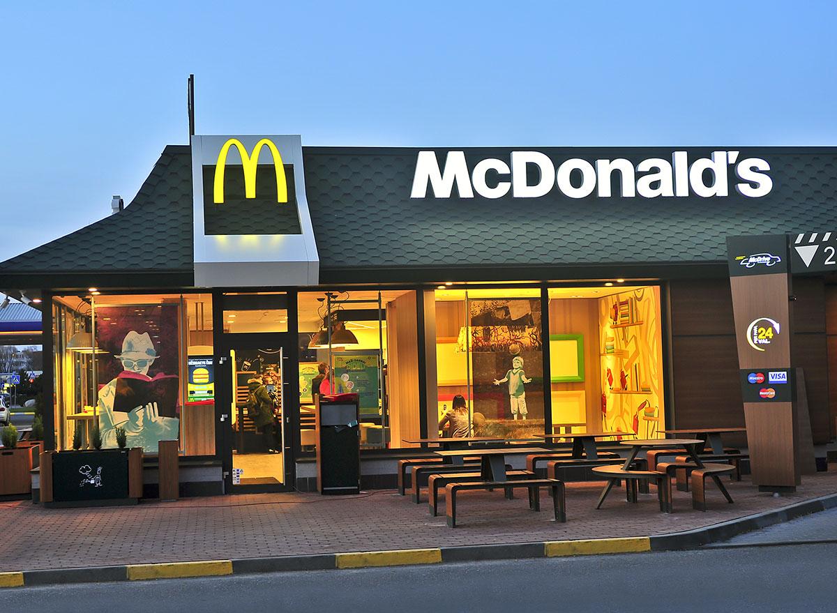 Mcdonald's franchise restaurant