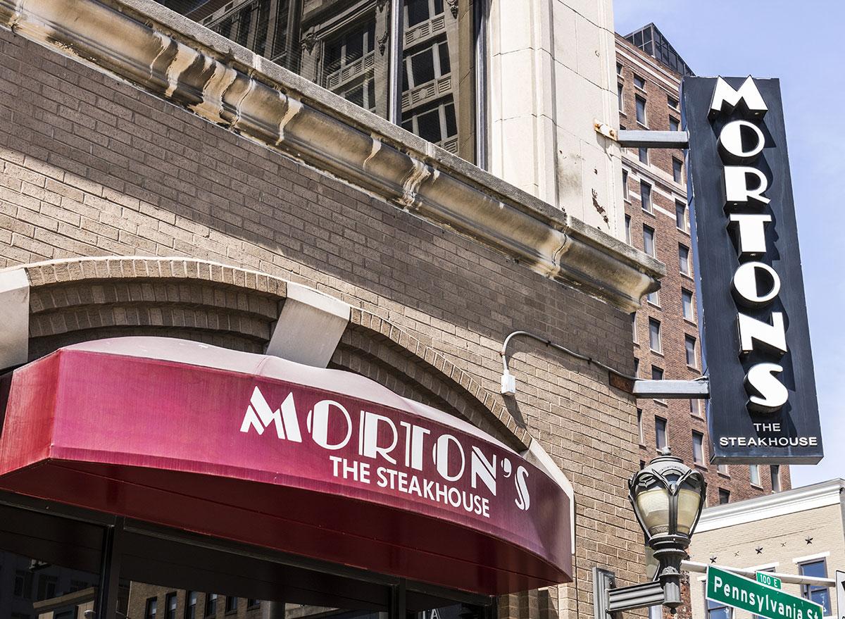 Morton's the steakhouse restaurant
