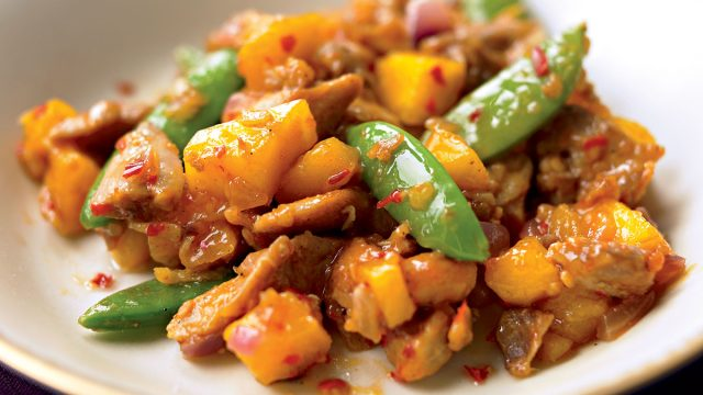 Paleo chili-mango chicken