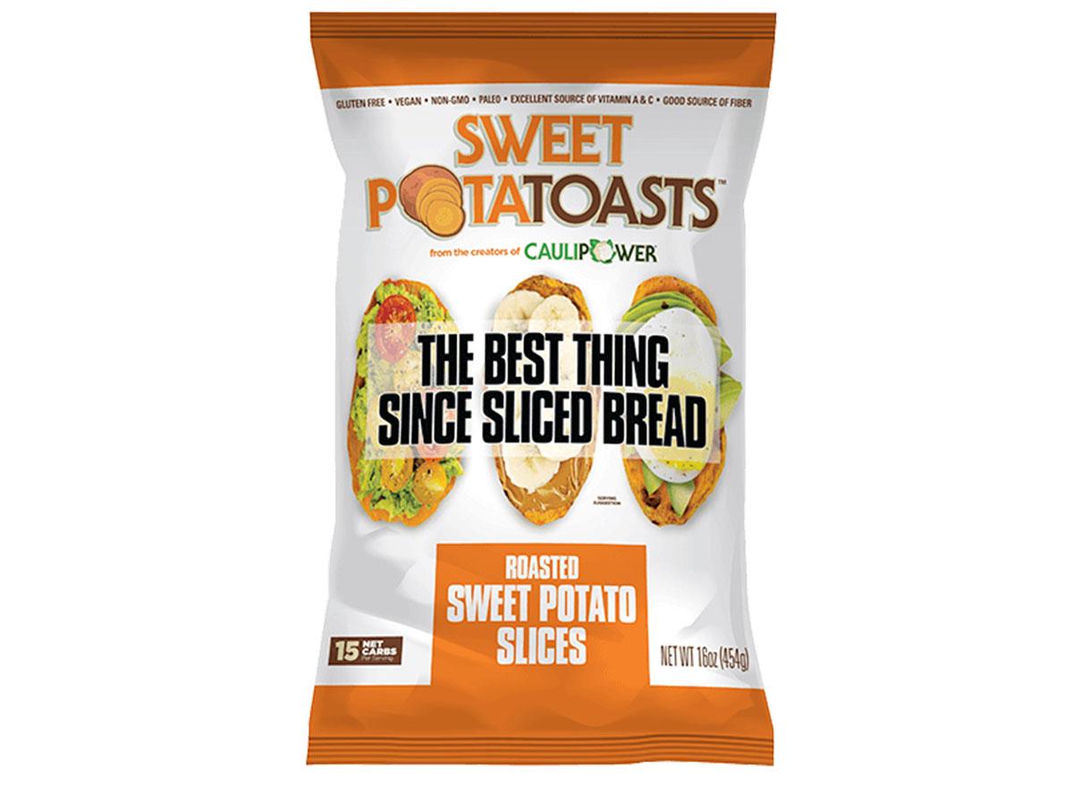 Roast sweet potatoasts bag