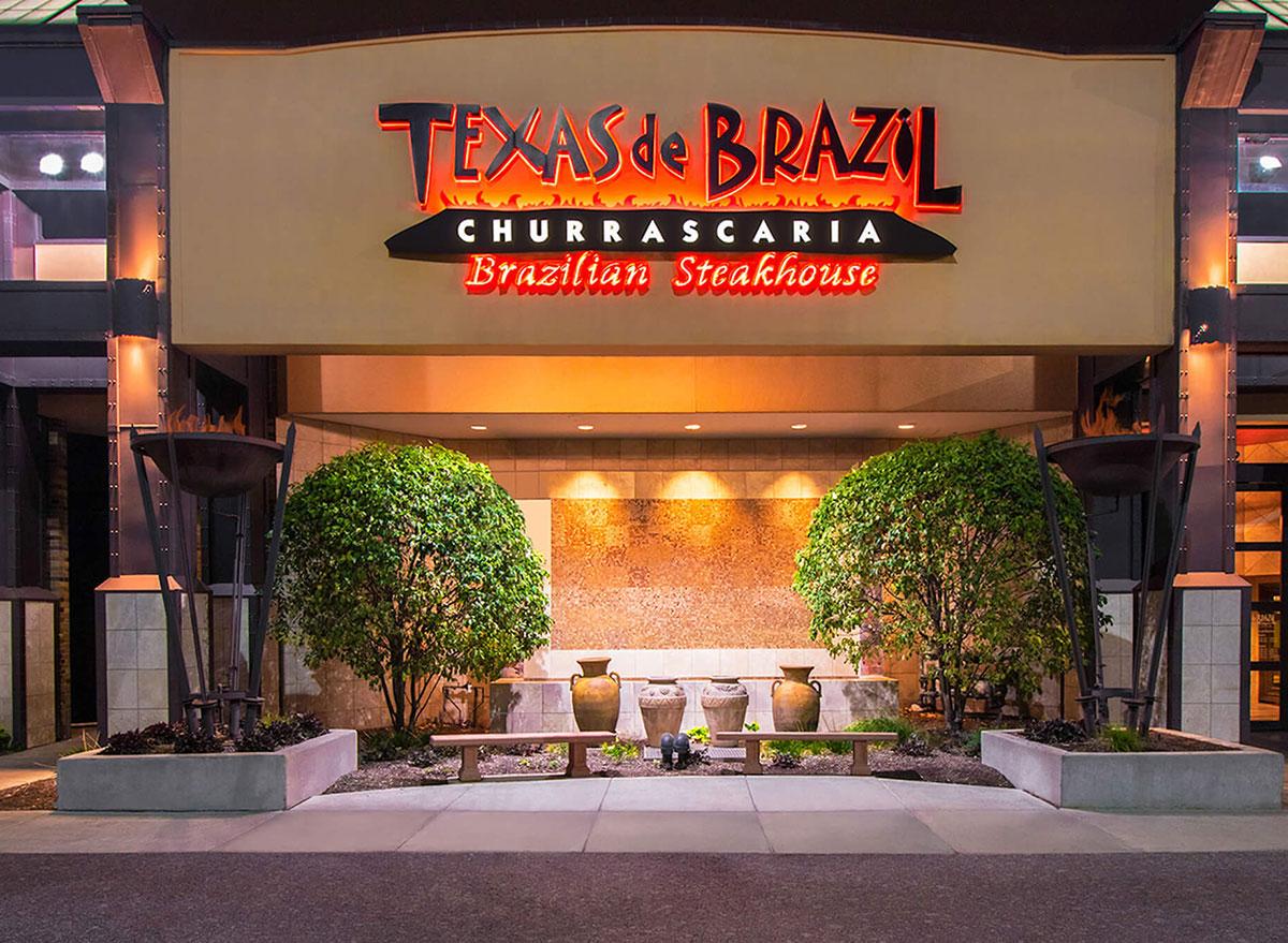 Texas de brazil churrascaria brazilian steakhouse