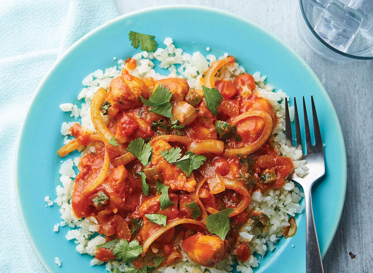 Paleo tomato chicken curry recipe