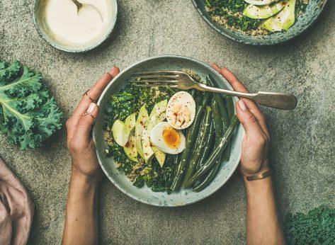 Vegetarian breakfast bowl