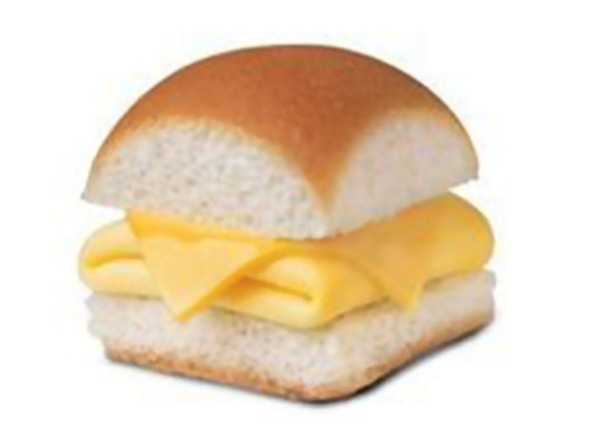 Egg cheese slider