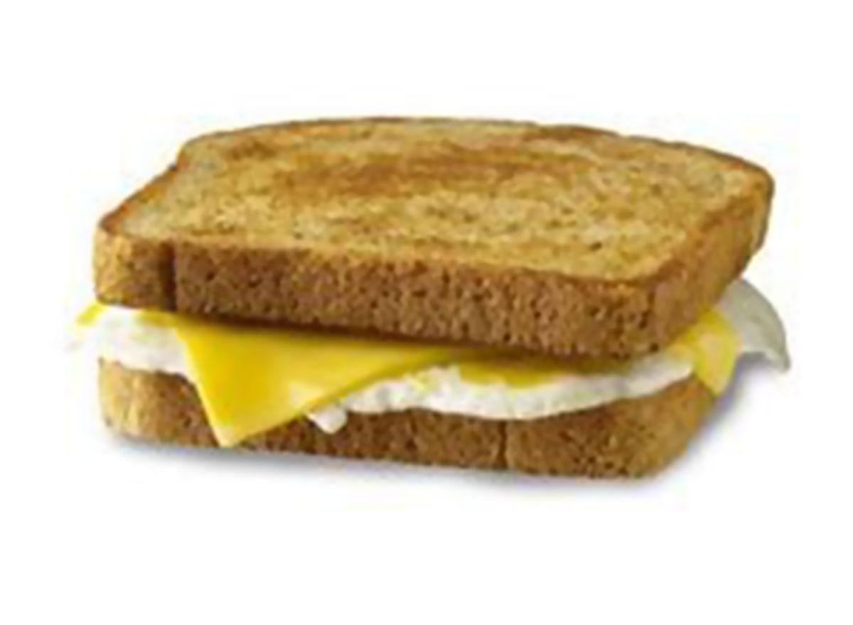 Egg cheese toast sandwich