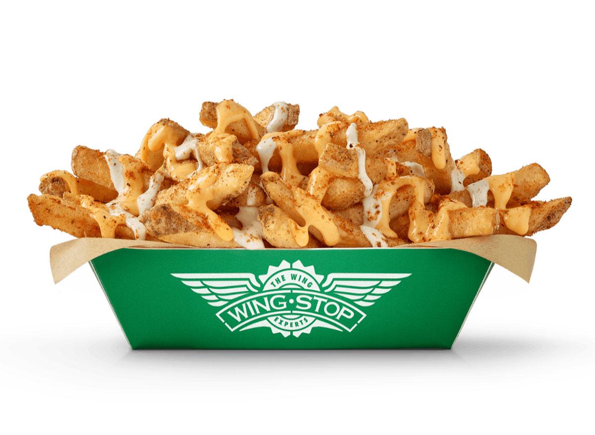 Wingstop voodoo fries