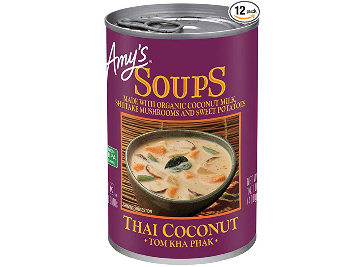 Amy's thai coconut soup can