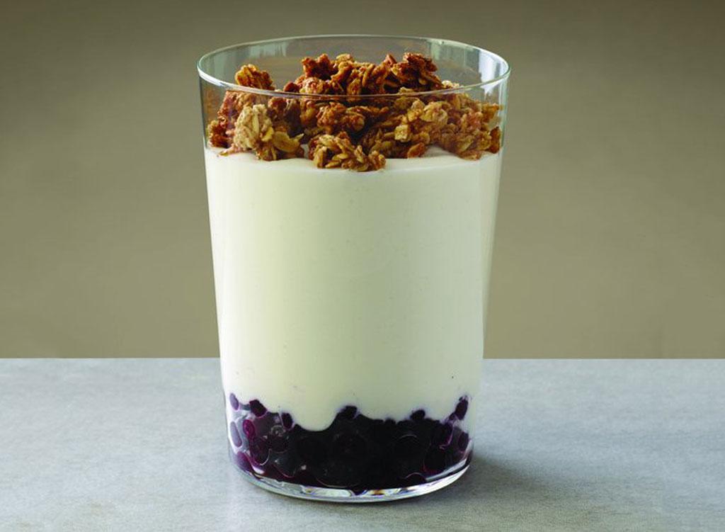 Au bon pain vanilla greek yogurt blueberry parfait