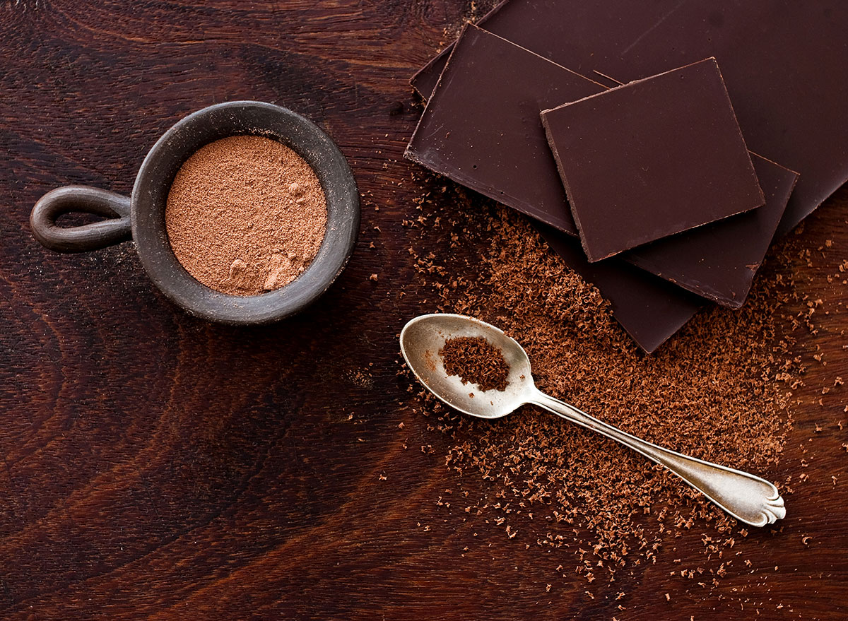 Chocolate in different forms - how to lose weight overnight