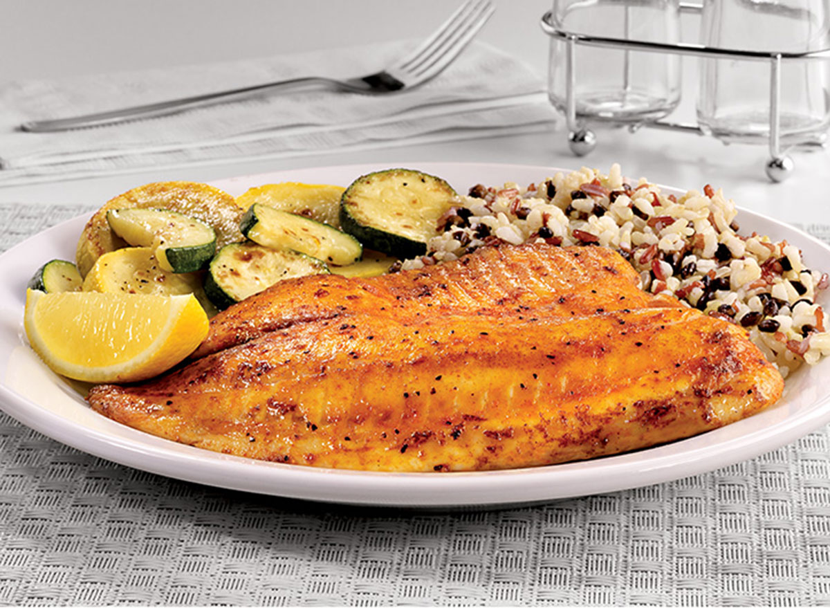 55+ grilled tilapia
