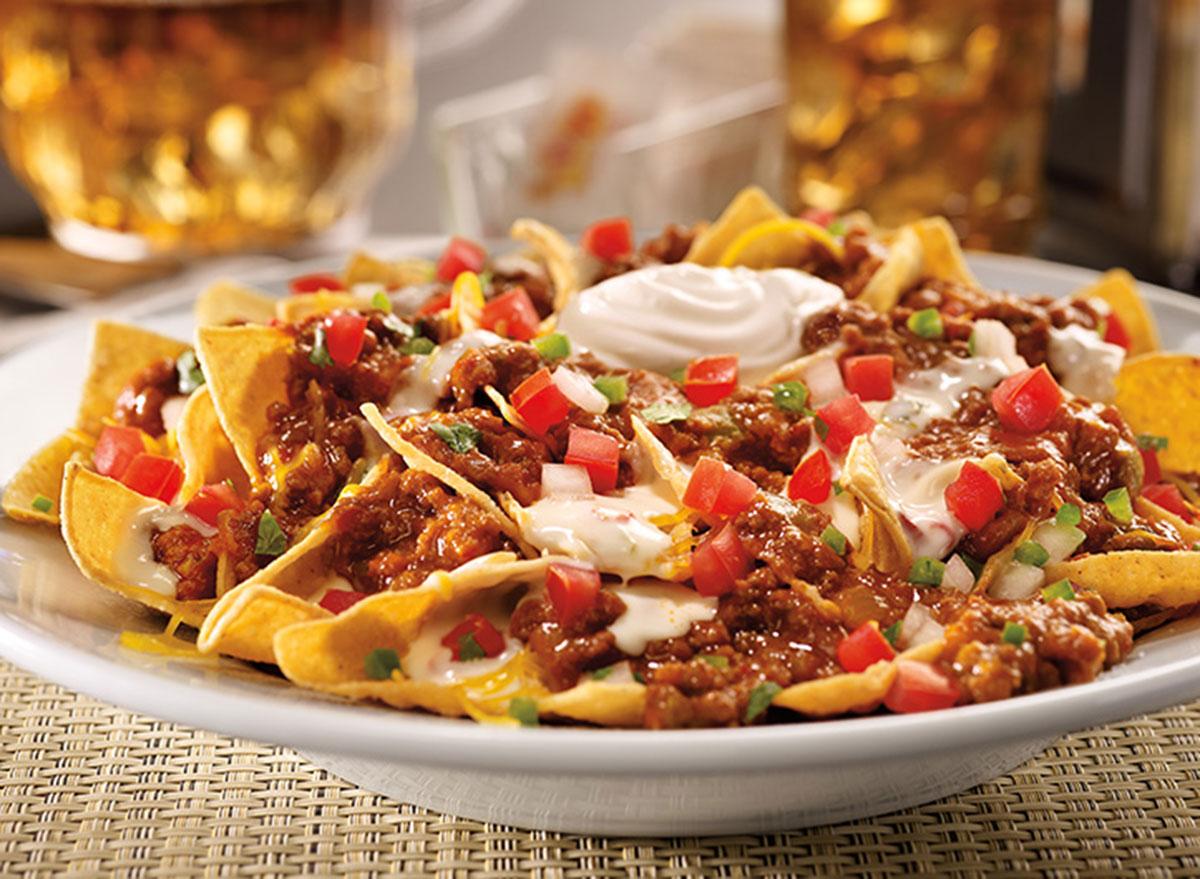 Zesty nacho platter full size