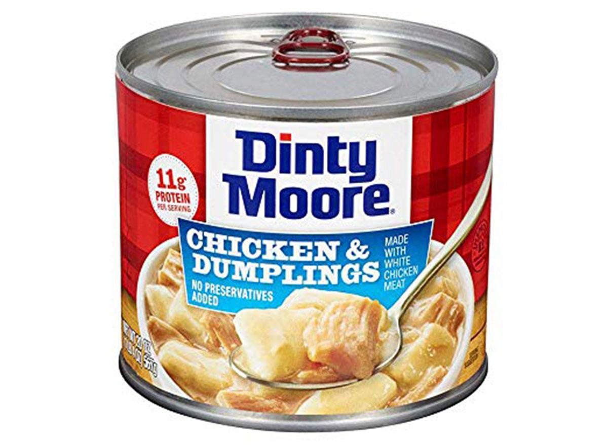 Dinty moore chicken dumplings can