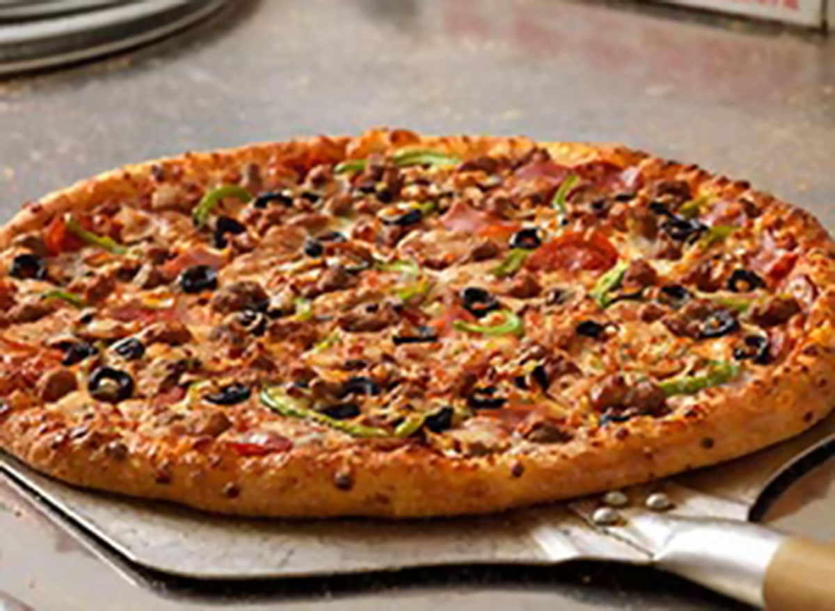 Extravaganzza pizza