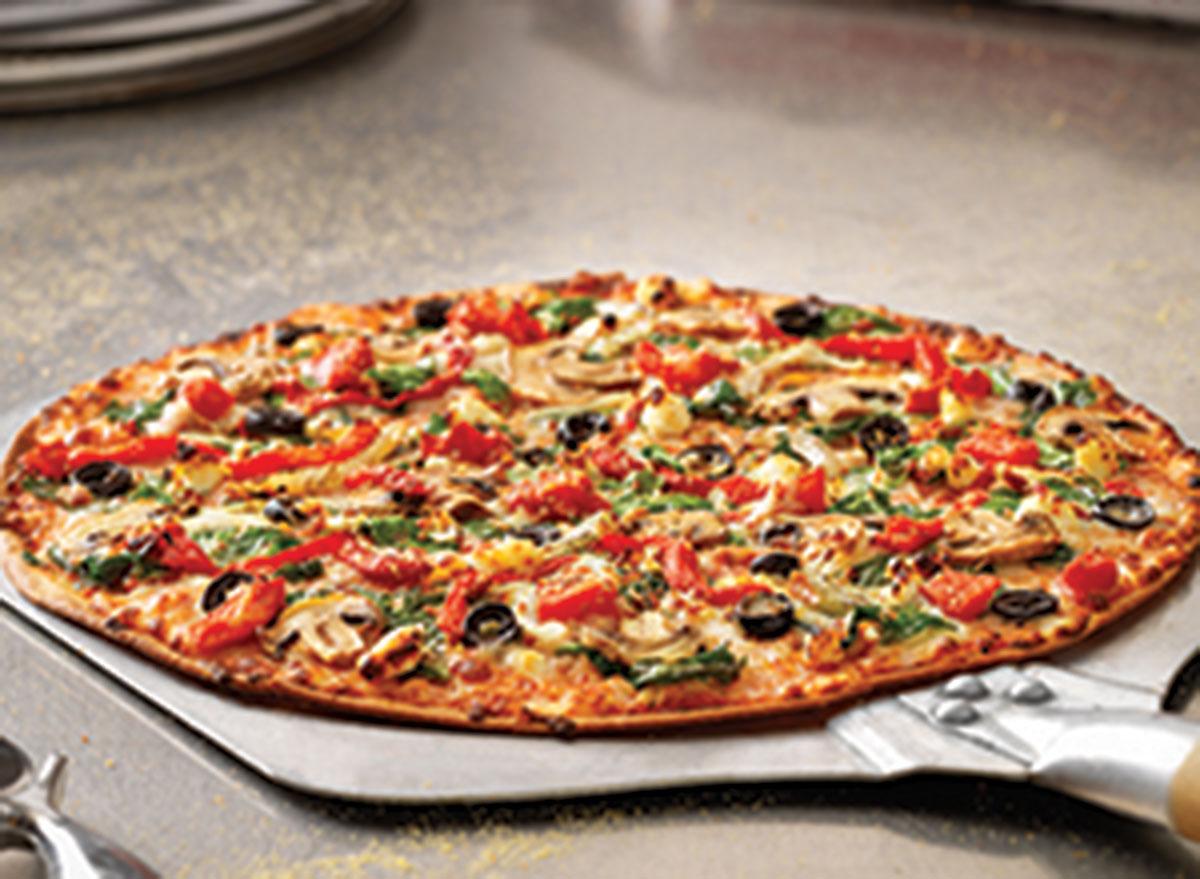 Pacific veggie pizza