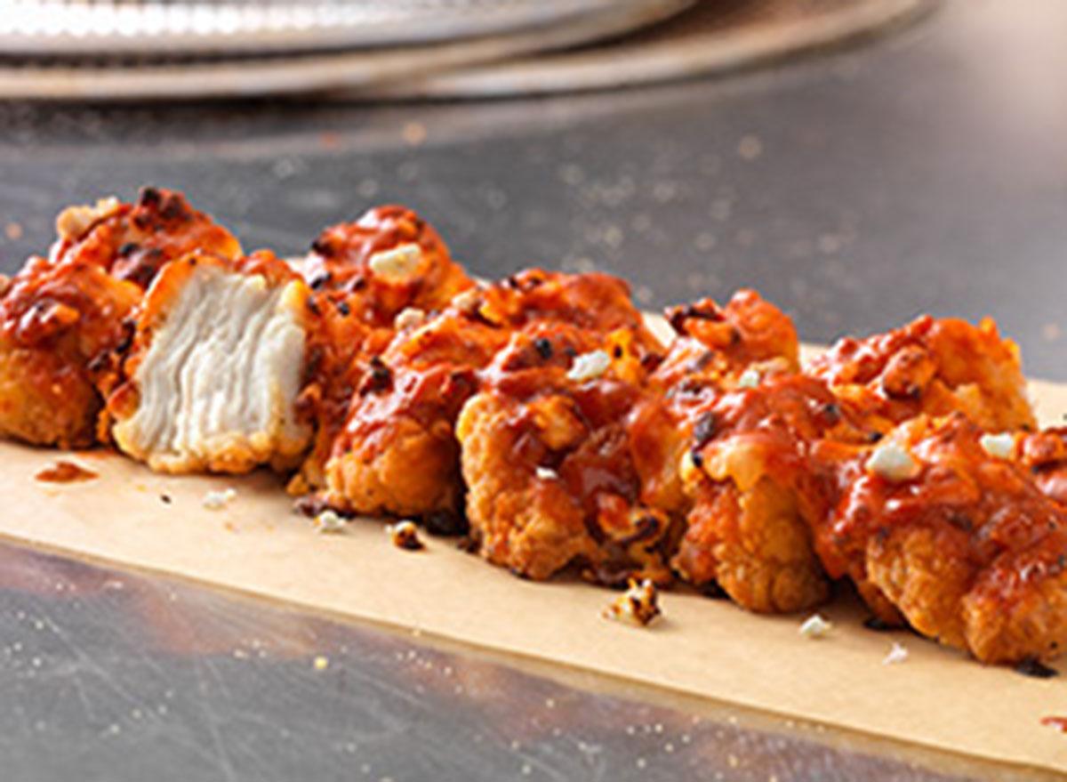 Classic hot buffalo specialty chicken