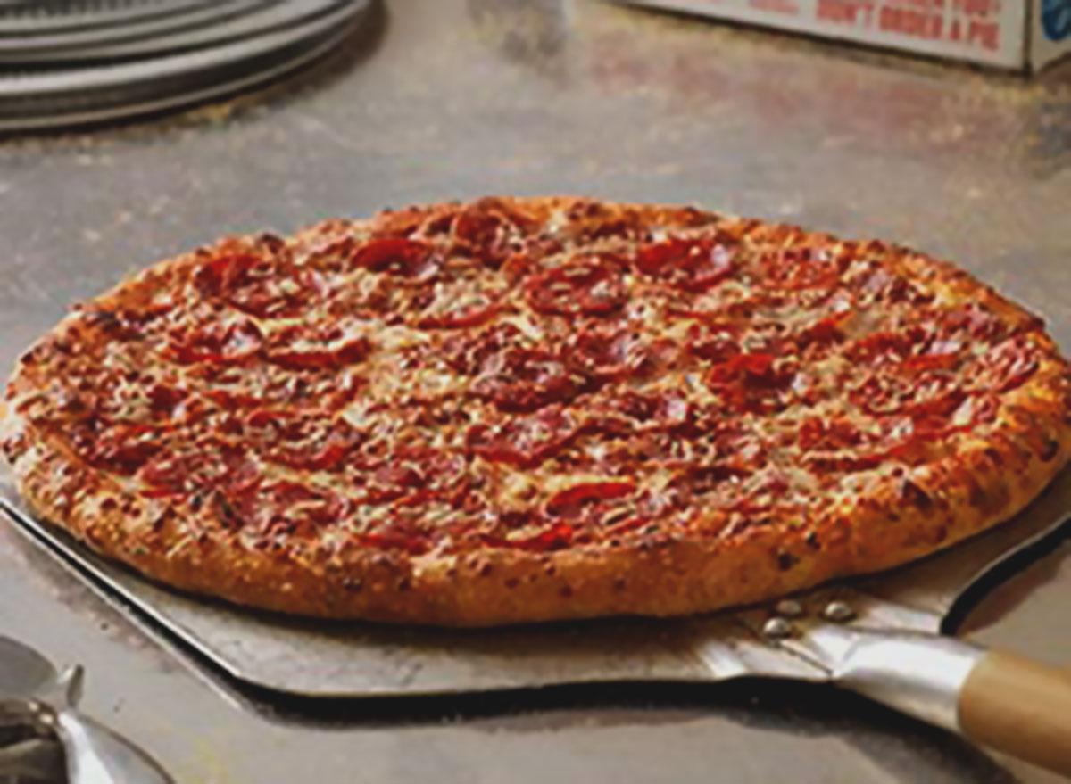 Ultimate pepperoni pizza