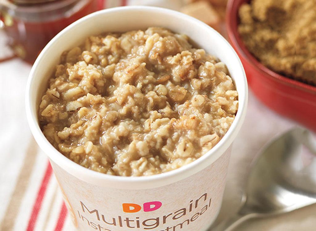 Dunkin donuts multigrain oatmeal
