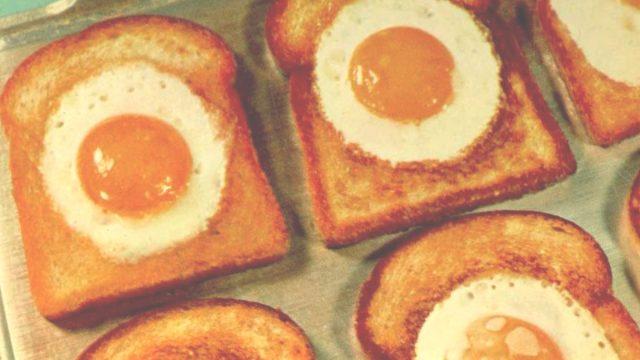 Egg in frame betty crocker cookbook for boys and girls 1975
