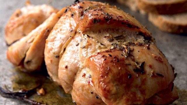 Gluten-free turkey breast herb roasted