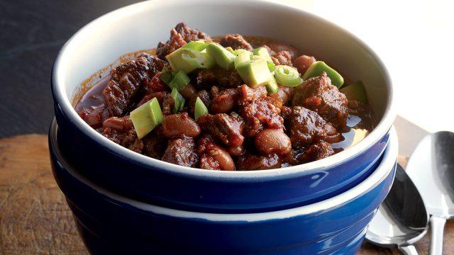 Healthy crockpot chilli