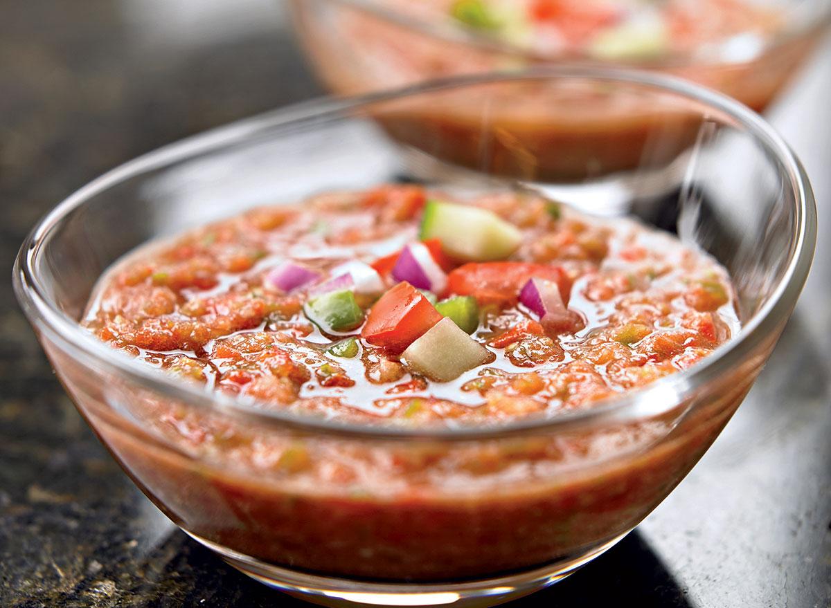 Healthy gazpacho
